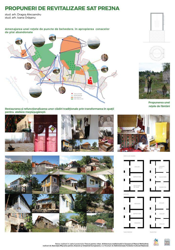 Propuneri acțiuni de valorificare sustenabilă – sat Prejna
