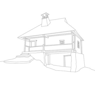 Casa de lemn Nița Popescu, sat Prejna, comuna Balta