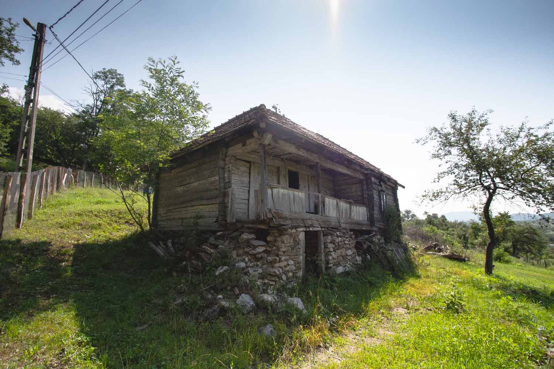 Casa de lemn Constantin Crăciun, sat Isverna, comuna Isverna